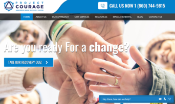 Project Courage Substance Abuse Recovery Center