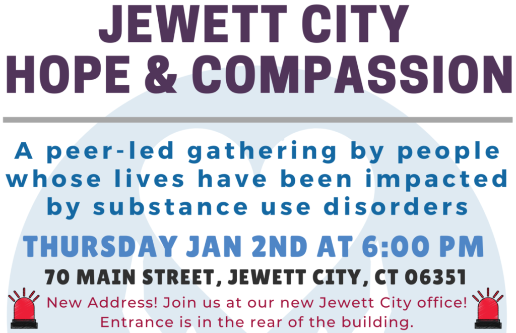 January 2019 - Jewett City Hope and Compassion Event Details