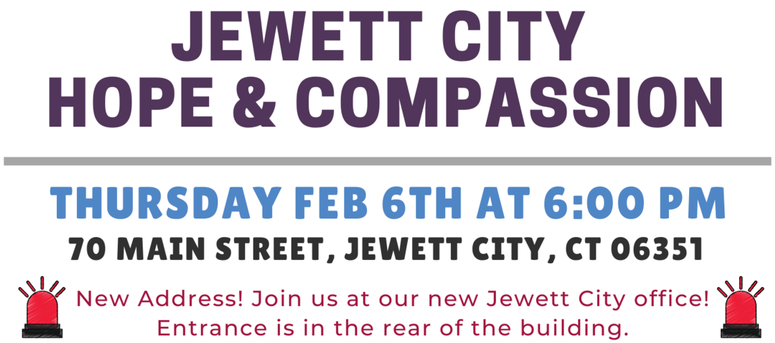 February 2020 - Jewett City Hope and Compassion Event Details